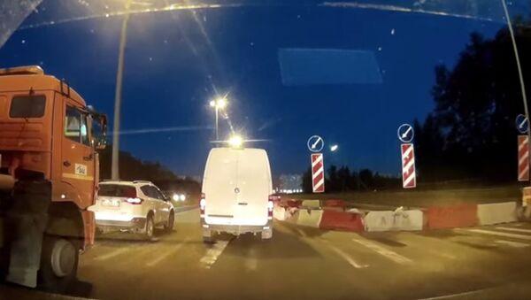 Spadek meteorytu w Petersburgu - Sputnik Polska