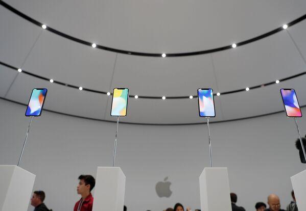 Prezentacja iPhone X w Kalifornii - Sputnik Polska