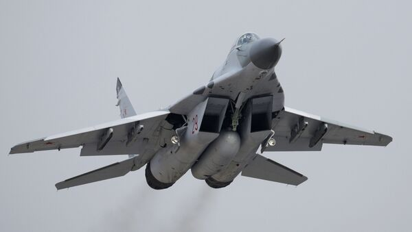 Samolot bojowy Mig-29SMT - Sputnik Polska