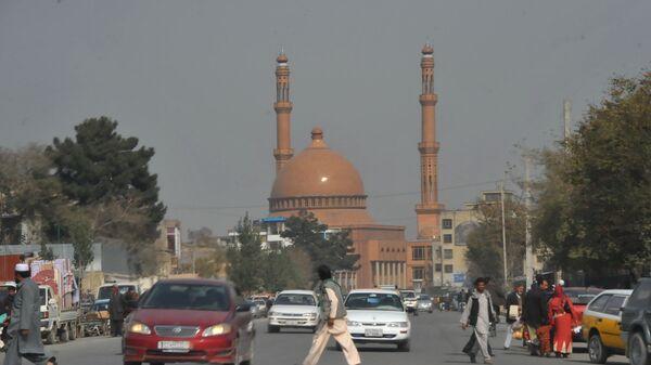 Centrum Kabulu, Afganistan - Sputnik Polska