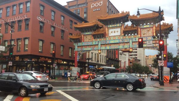 Chinatown w Waszyngtonie - Sputnik Polska