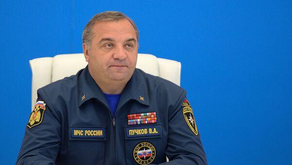 Rosyjski minister ds. sytuacji nadzwyczajnych  Władimir Puczkow - Sputnik Polska