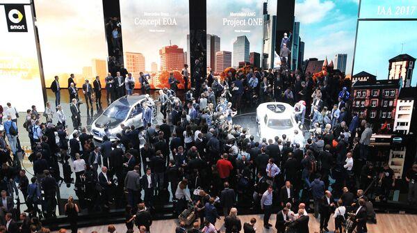 Międzynarodowy Salon Motoryzacyjny we Frankfurcie - Sputnik Polska