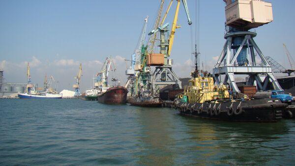 Berdiański port handlowy na Morzu Azowskim - Sputnik Polska