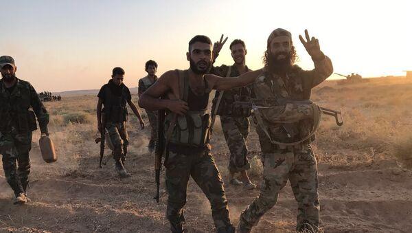 Armia syryjska - Sputnik Polska