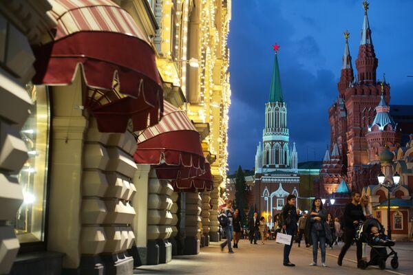 Nazwa ulicy pochodzi od nazwy klasztoru św. Mikołaja, który kiedyś istniał w tym miejscu. - Sputnik Polska