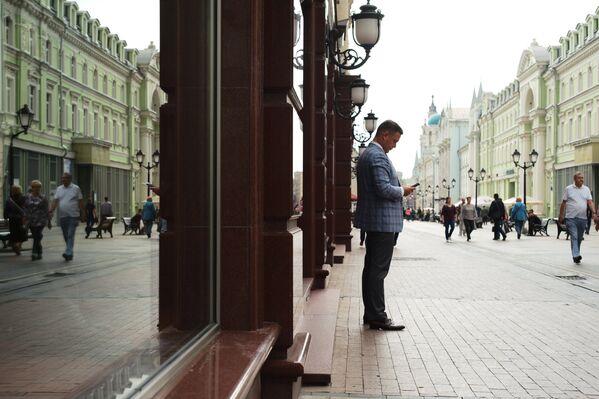 Od sierpnia 2013 roku Nikolska jest ulicą dla pieszych. - Sputnik Polska