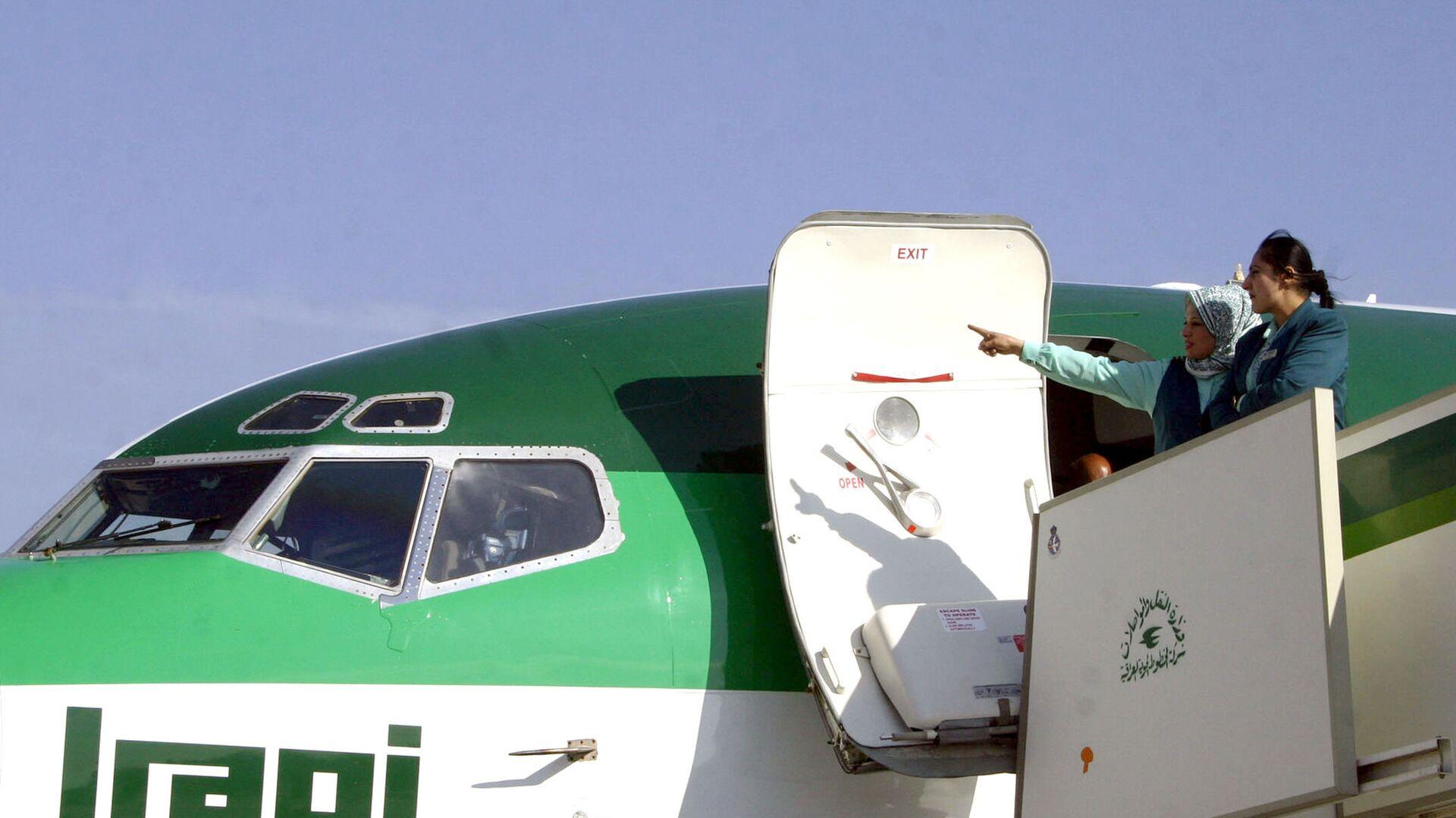 Rosja i Irak wznawiają połączenia lotnicze, które zawieszono w 2004 roku - Sputnik Polska, 1920, 09.10.2021