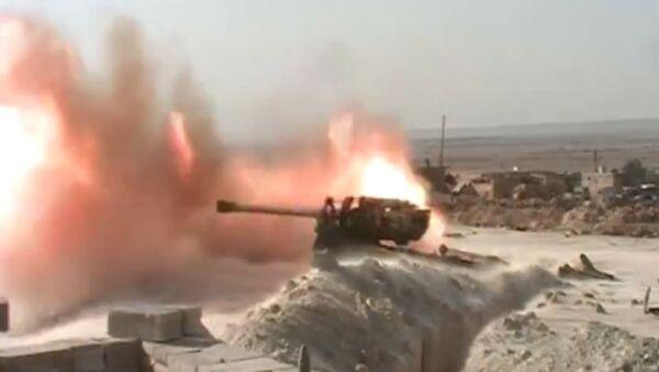 Syryjscy wojskowi opanowali miejscowość  al-Jafra - Sputnik Polska