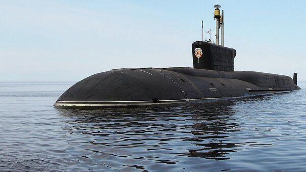 Rosyjski okręt podwodny piątej generacji Władimir Monomach - Sputnik Polska