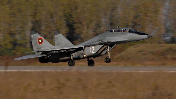 Samolot MiG-29 sił powietrznych Bułgarii - Sputnik Polska