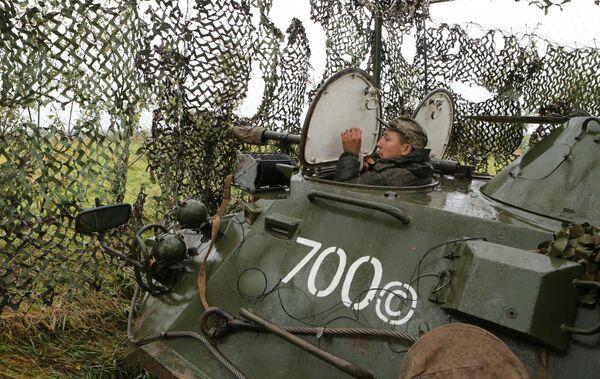 """Ćwiczenia wojskowe """"Zapad 2017"""" w obwodzie kaliningradzkim - Sputnik Polska"""