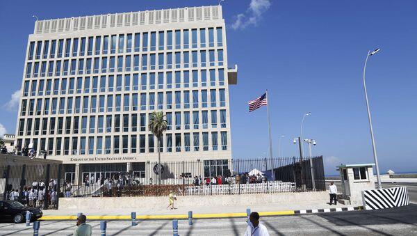 Budynek ambasady USA w Hawanie, Kuba - Sputnik Polska