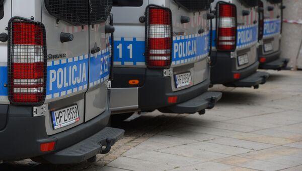 Policyjne radiowozy w Warszawie - Sputnik Polska