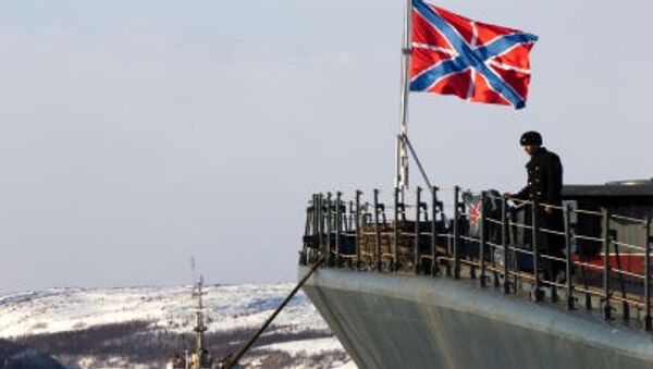 Duży okręt do zwalczania łodzi podwodnych «Siewieromorsk» - Sputnik Polska