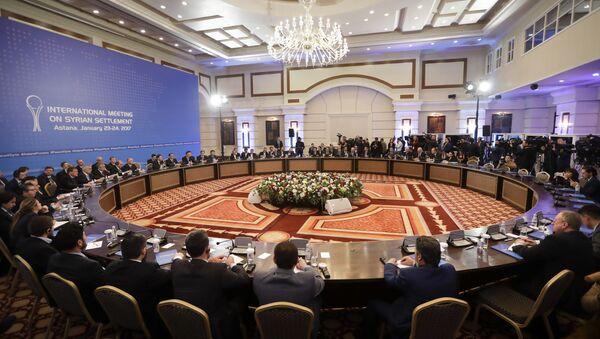 Rozmowy ws. Syrii w Astanie - Sputnik Polska