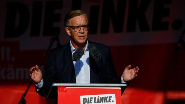 Kandydat kancelarii niemieckiej lewicy Dietmar Bartsch - Sputnik Polska