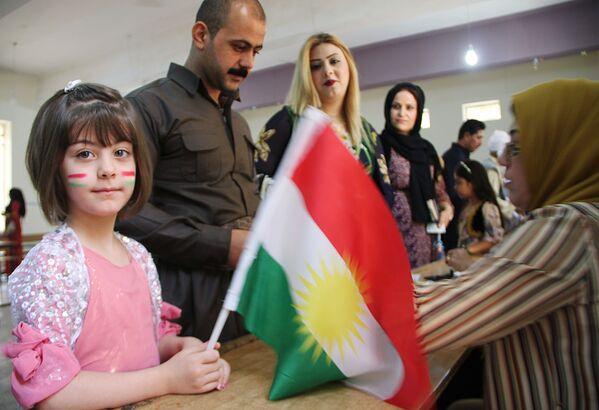Referendum w sprawie niepodległości irackiego Kurdystanu - Sputnik Polska