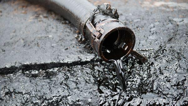 Wąż z ropą naftową - Sputnik Polska