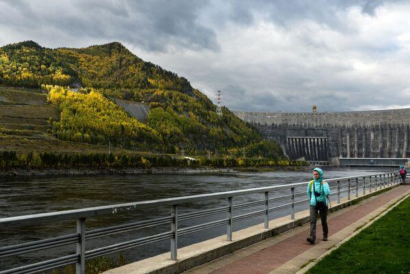 Hydroelektrownia w Chakasji - Sputnik Polska