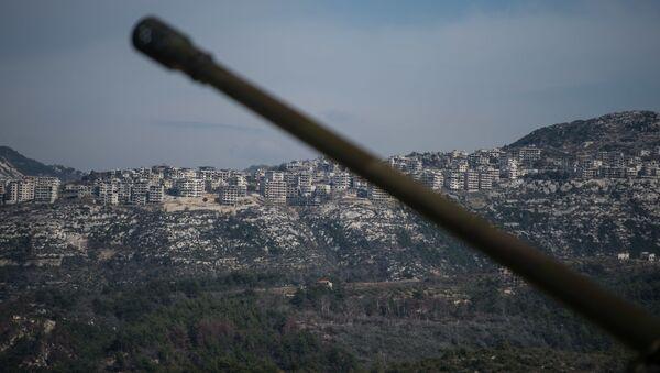 Pozycje syryjskiej armii w prowincji Idlib - Sputnik Polska