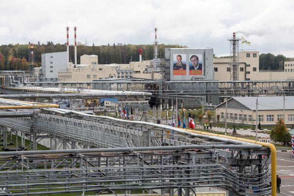 Kompleks uruchamiający utylizację broni chemicznej w ramach programu likwidacji ostatniej broni chemicznej w ośrodku Kizner w Udmurcji. - Sputnik Polska