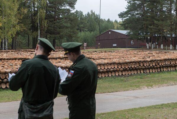 Miejsce przechowywania ostatnich wypalonych pocisków - Sputnik Polska