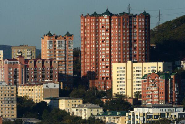 Osiedle w centrum Władywostoku - Sputnik Polska