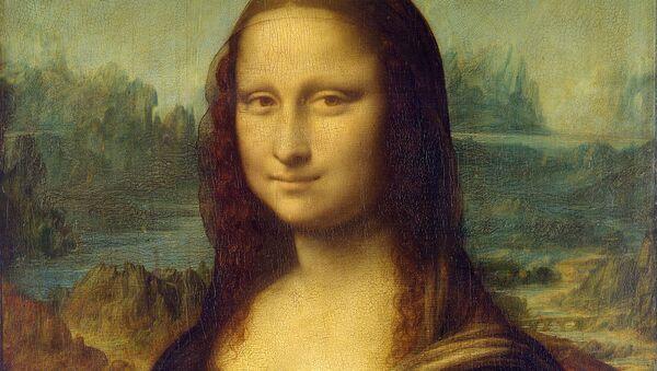 """""""Mona Lisa"""" Leonarda da Vinci - Sputnik Polska"""