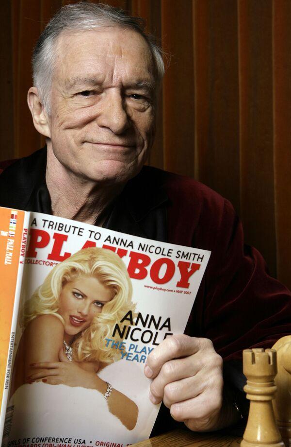 Założyciel magazynu Playboy Hugh Hefner - Sputnik Polska