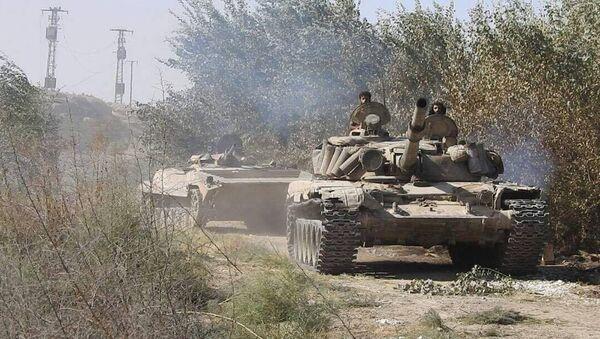 Syryjska armia toczy walki na południowym wschodzie Dajr az-Zaur - Sputnik Polska
