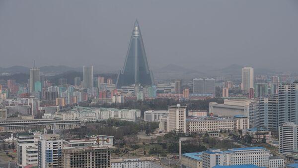 Widok na Pjongjang, Korea Północna - Sputnik Polska