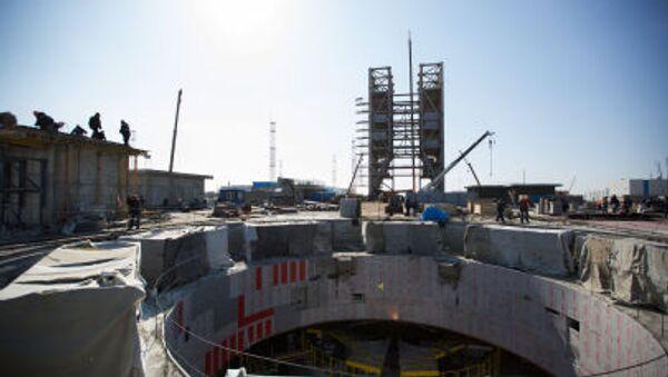 Budowa kosmodromu Wostocznyj w odwodzie amurskim - Sputnik Polska