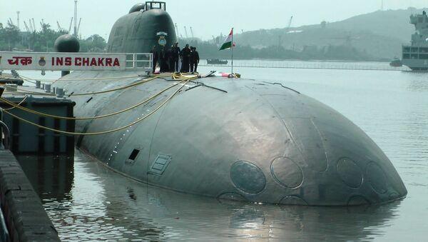 Okręt podwodny Czakra (К-152 «Nerpa») - Sputnik Polska
