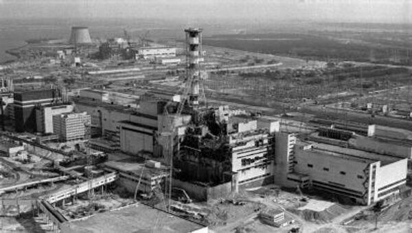Katastrofa w elektrowni jądrowej w Czarnobylu - Sputnik Polska