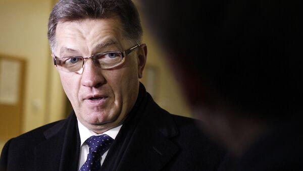 Premier Litwy Algirdas Butkevičius - Sputnik Polska