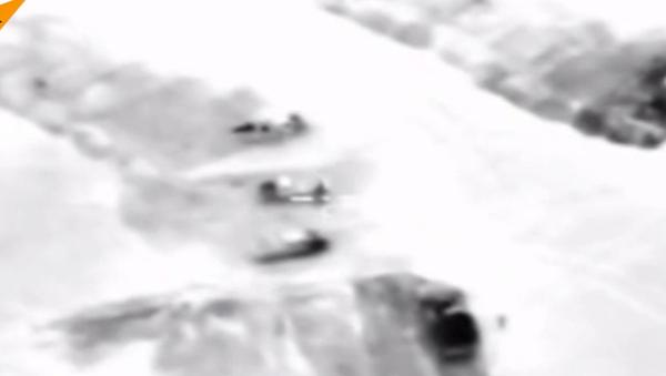 Siły Powietrzno-Kosmiczne Rosji przeprowadziły atak na pozycje dowództwa ugrupowania Dżabhat an-Nusra - Sputnik Polska