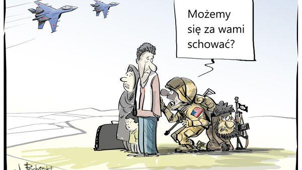 Żywe tarcze - Sputnik Polska