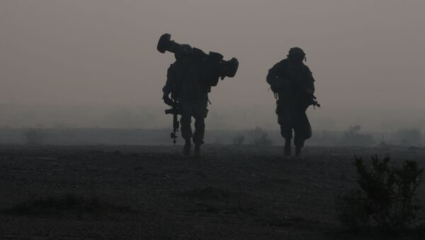 Żołnierze amerykańskiej armii - Sputnik Polska