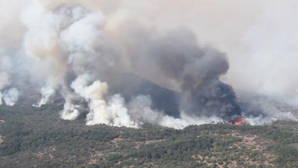 Pożar w Kalifornii - Sputnik Polska
