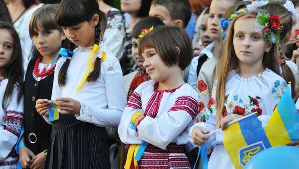 Ukraińscy uczniowie - Sputnik Polska
