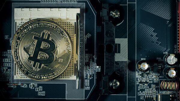 Moneta bitcoin - Sputnik Polska