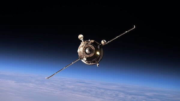Progress MS-02 approaching the ISS - Sputnik Polska