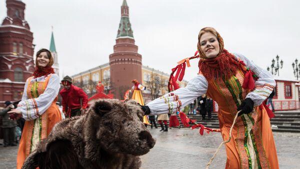 Festiwal Moskiewska Maslenica - Sputnik Polska