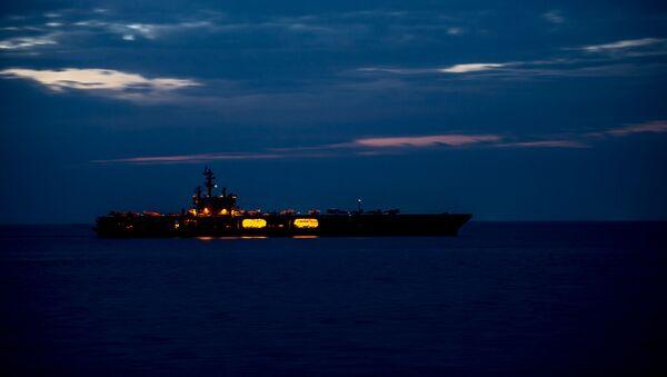 Amerykański lotniskowiec USS Ronald Reagan - Sputnik Polska