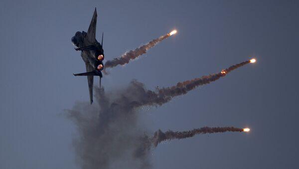 Myśliwiec izraelskich sił powietrznych. Zdjęcie archiwalne - Sputnik Polska