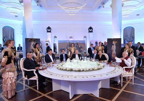 Nieformalny obiad liderów państw BRICS - Sputnik Polska