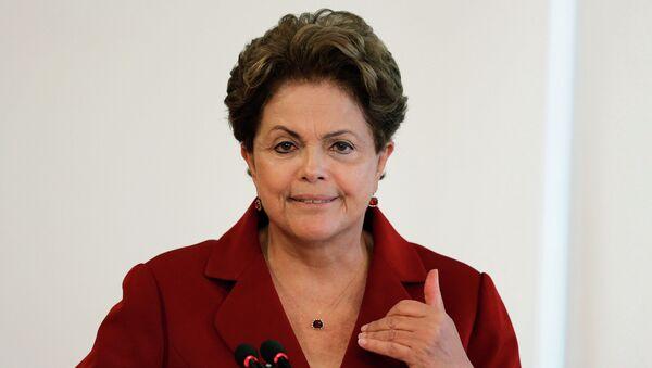 Prezydent Brazylii Dilma Rousseff - Sputnik Polska