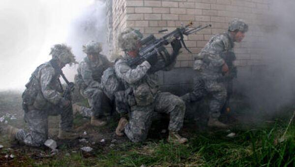 Ćwiczenia wojskowe amerykańskiej armii na Litwie - Sputnik Polska
