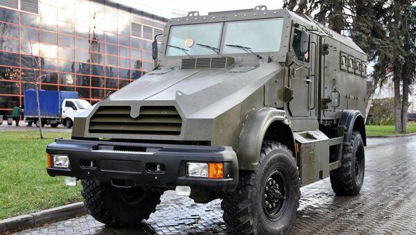 Wcześniejsza wersja samochodu pancernego Gorec - Sputnik Polska
